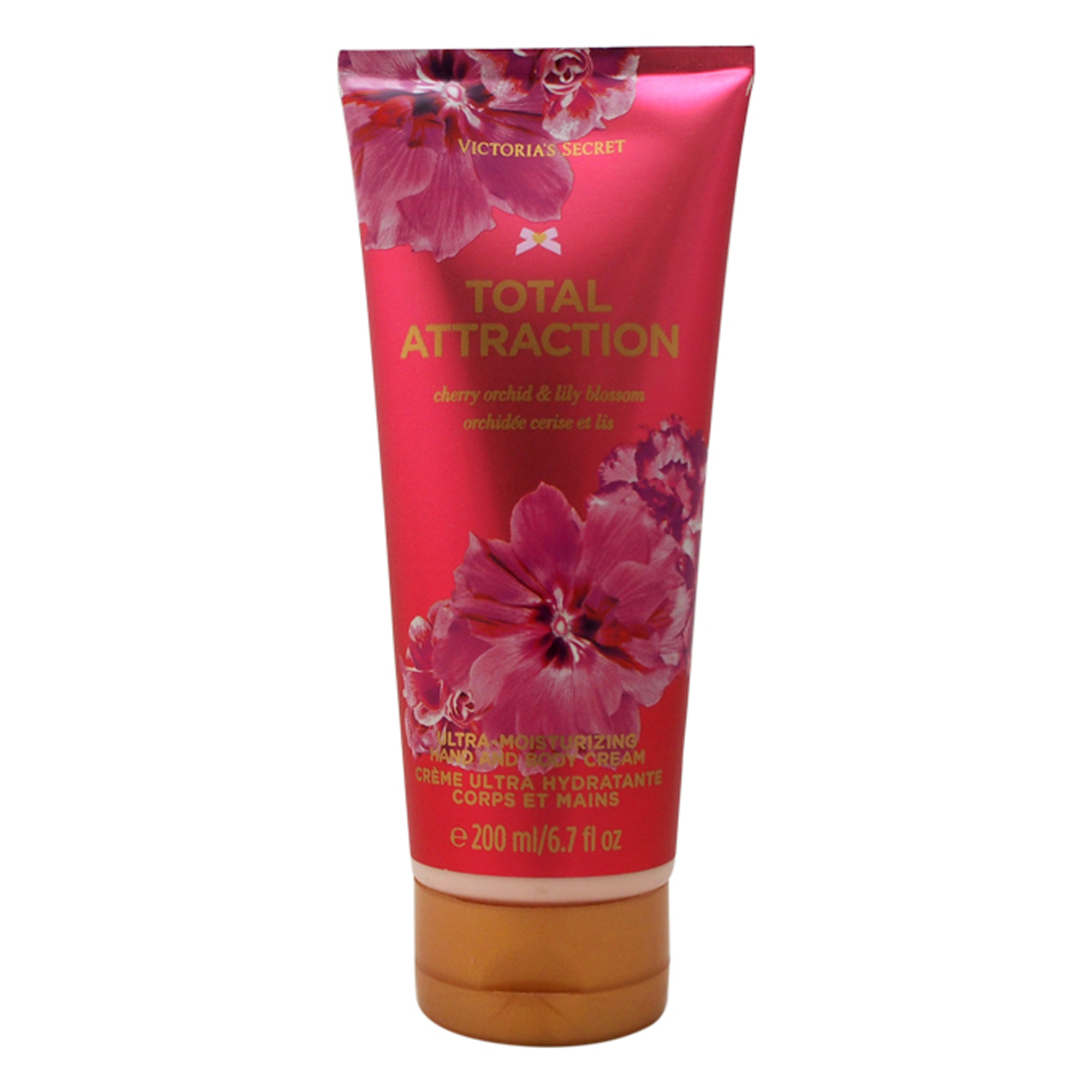 Total Attraction by Victorias Secret for Women - 6.7 oz Hand & Body Cream