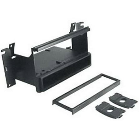 SCOSCHE MI3013B - 1995-up Mitsubishi Eclipse Mounting Dash Kit for Car Radio / Stereo Installation with 2 CD Storage