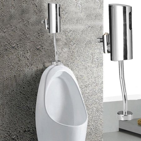 Fully-automatic Auto Mounted Toilet Urinal Flush Infrared Valve Touchless