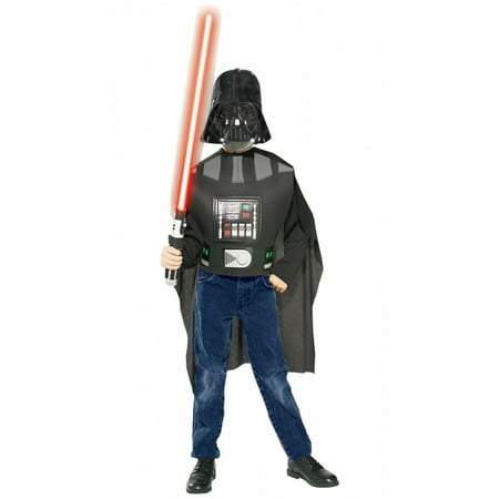 Star Wars Boys Ep3-Darth Vader Halloween Costume Boxset