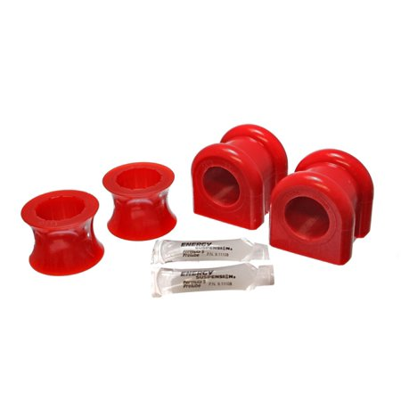 Energy Suspension 00-04 Dodge Dakota 4WD / 00-04 Durango 4WD Red 35mm Front Sway Bar Bushing Set 4wd Energy Sway Bar Bushings