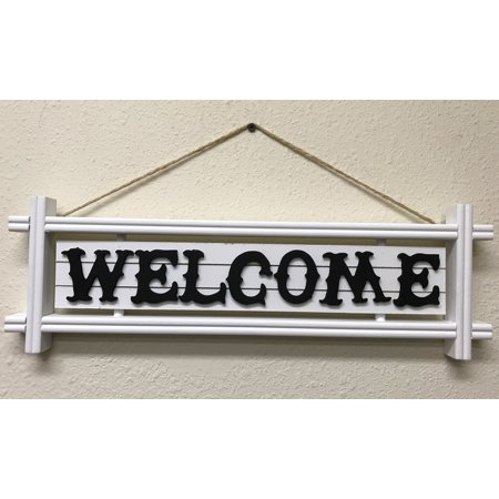 Creative Motion Wooden Welcome Sign - Welcome Fall Sign