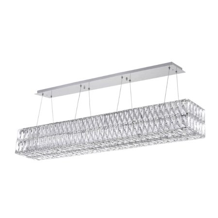 VIVA LIFESTYLE LIGHTING LED Chandelier - Chrome Finish - image 1 de 1
