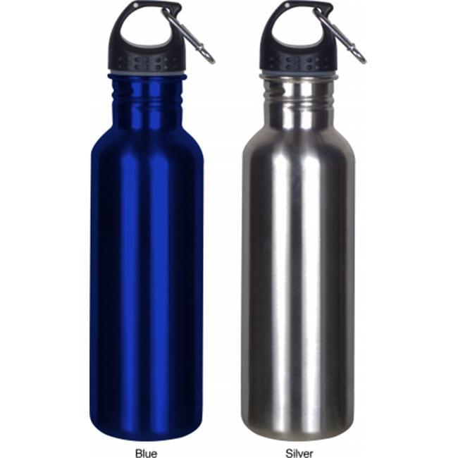 Worthy Wide Mouth Stainless Steel Sports Bottle - Blue - 010-WMSBB