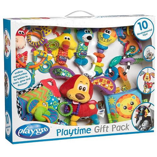 Playgro Playtime 10 Piece Gift Pack