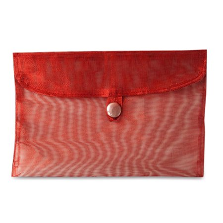Red Envelope Gift - 8 in. X 5-1/2 in. METALLIC RED FABRIC GIFT ENVELOPE | Quantity: 12 by Paper Mart