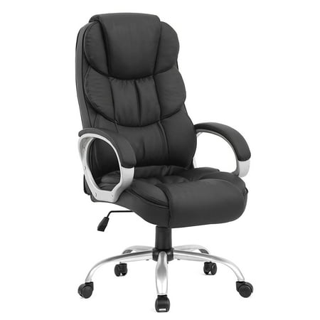 Ergonomic Executive High Back Office Gaming Chair, Metal Base Array Small Back Chair