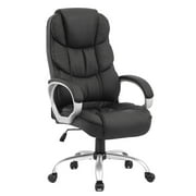 Ergonomic Executive High Back Office Gaming Chair, Metal Base