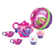 Munchkin Bath Tea and Cupcake Set with Bath Ball