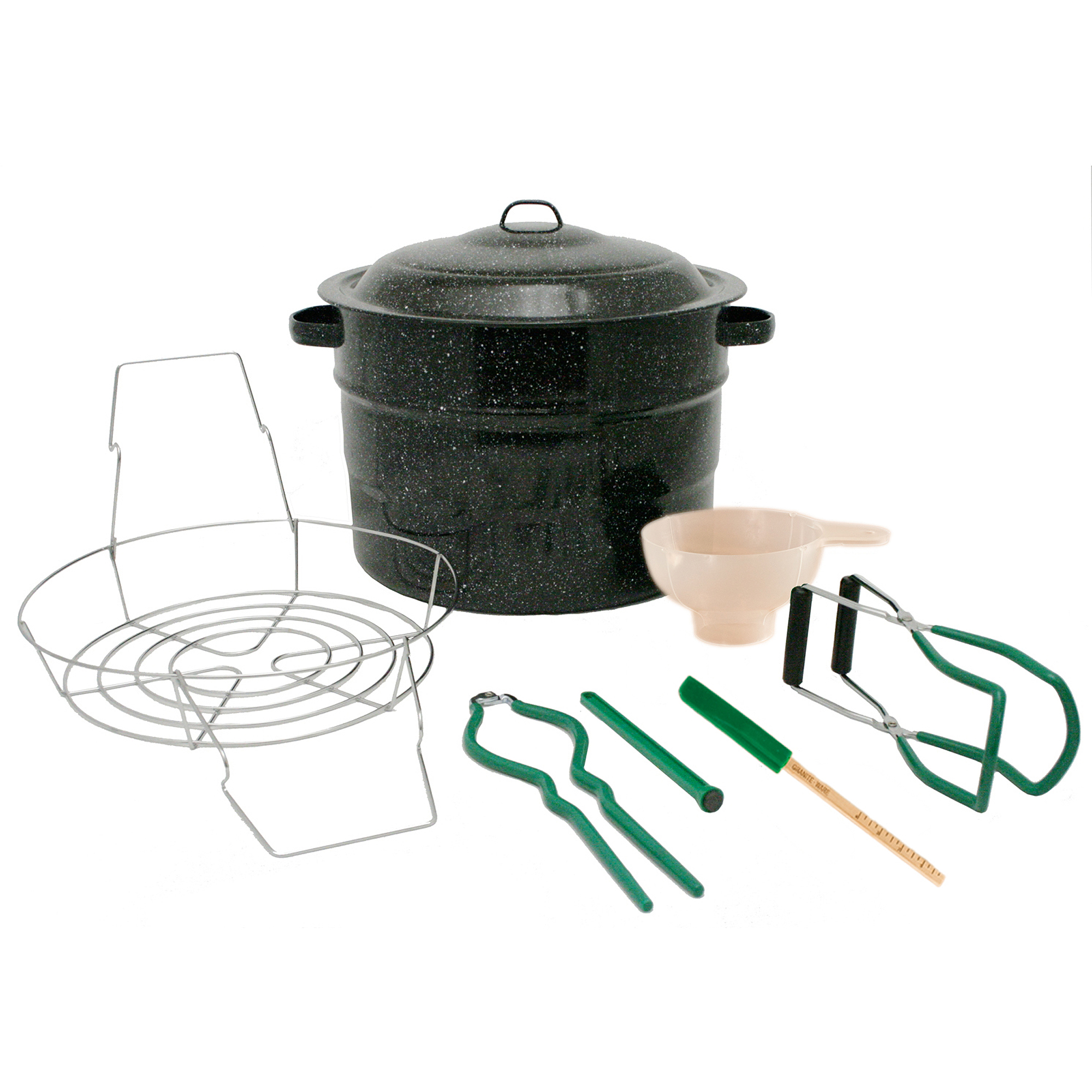 Granite Ware 8-Piece Canning Set, Black