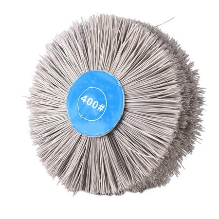 Transparent Abrasive Polishing Wire Brush Root Carving Furniture Polishing - image 1 de 1