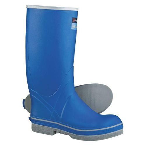 "SKELLERUP FSP1 Boots,Sz 9,16"" H,Blue,Stl,PR G9360111"