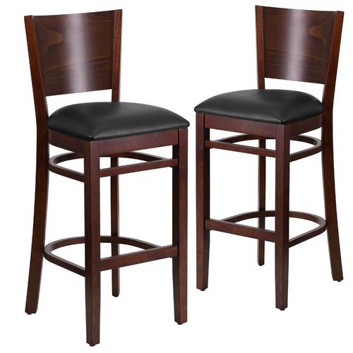 Red Barrel Studio Harriet 32 Bar Stool Set Of 2 Walmartcom