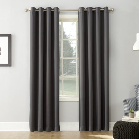 Sun Zero Nolan Energy Saving Blackout Grommet Curtain Panel