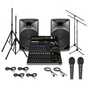Alto TX15USB with Peavey PV14AT Mixer PA System