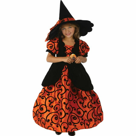 Shirley Pocket Witch Child Halloween Costume