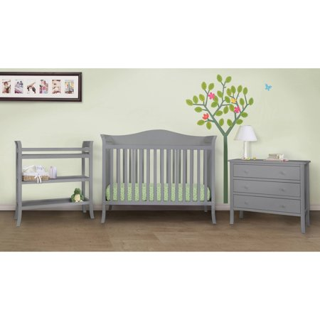 Baby Mod Bella 3 Piece Nursery Set Grey Box 1 Of 2