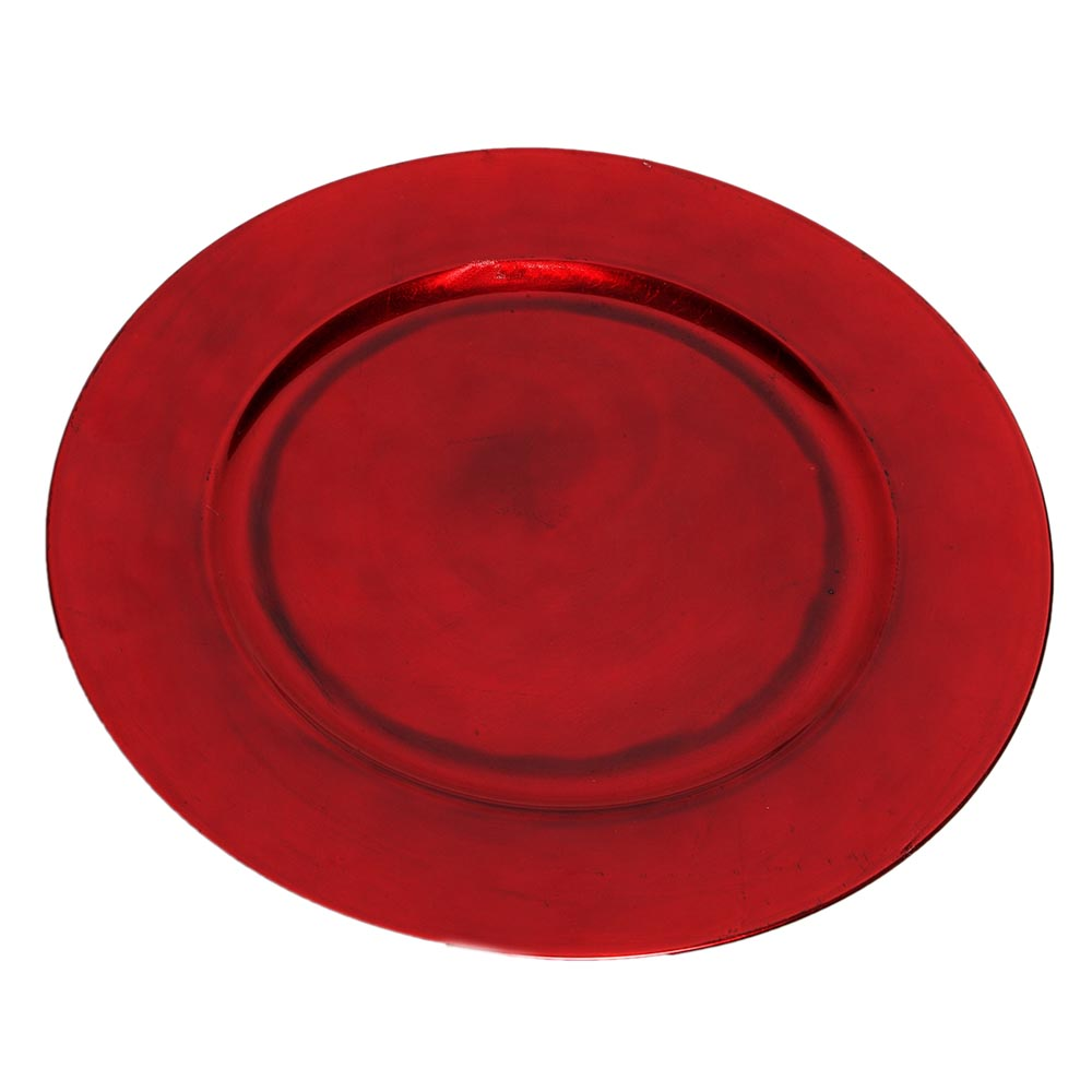 Red Charger Plate  sc 1 st  Walmart & Red Charger Plate - Walmart.com