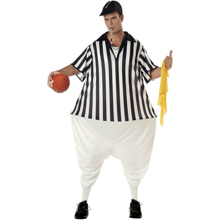 Referee Adult Halloween Costume (Referee Halloween Costumes)