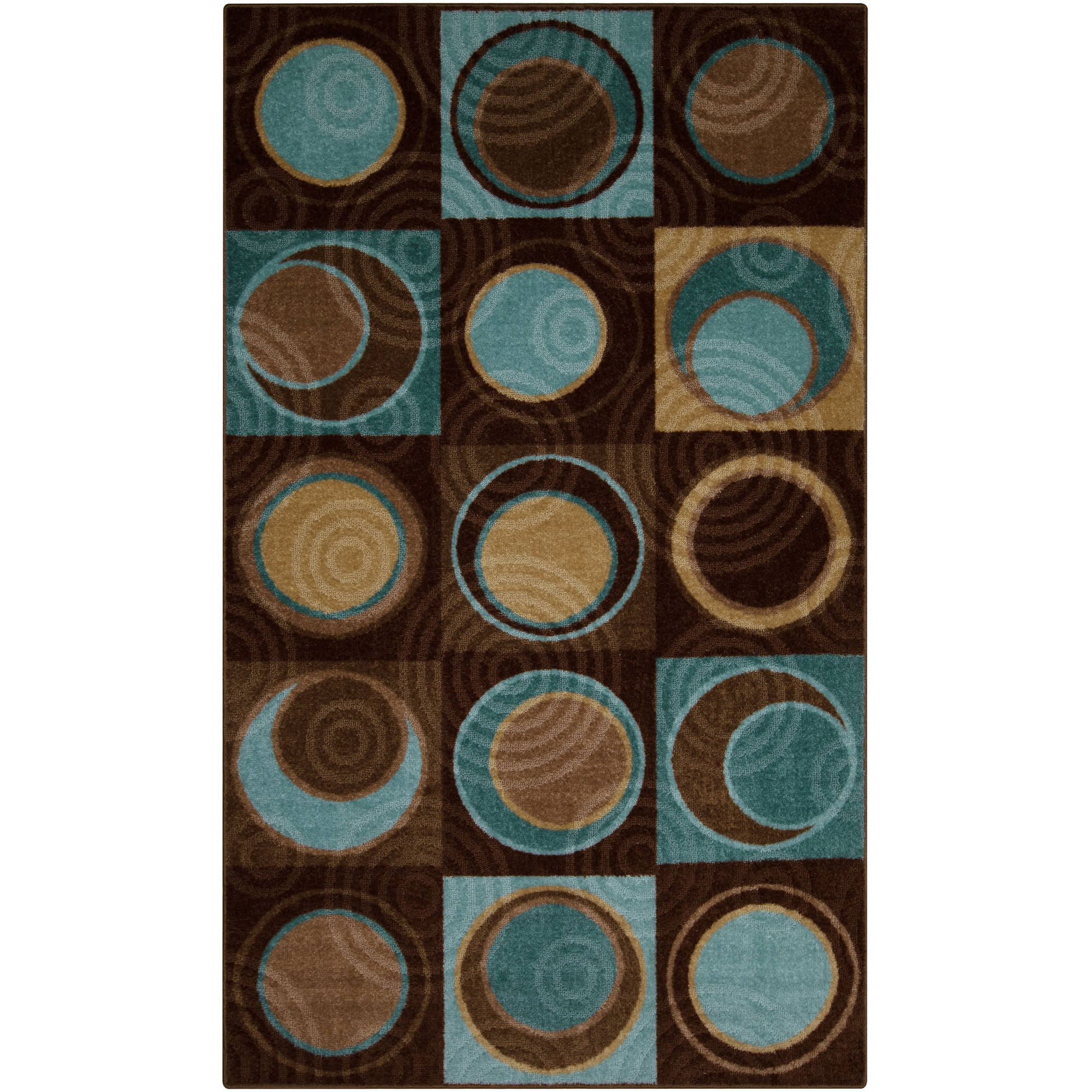 Better Homes and Gardens Circle Block Area Rugs or Runner