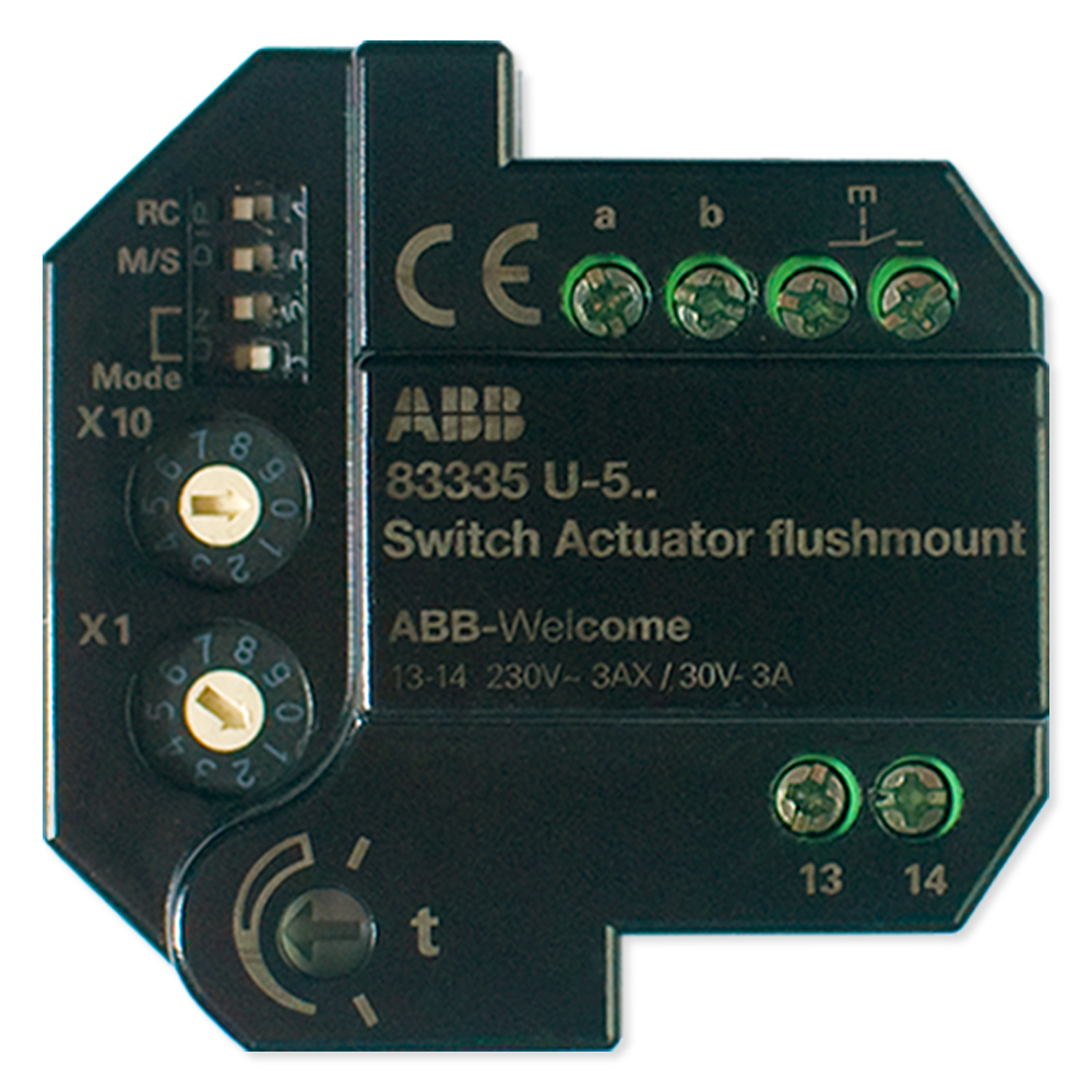ABB Welcome Switch Actuator (M2305)