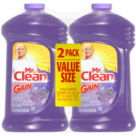 Mr Clean Multi Surface Cleaning Liquid With Lavender