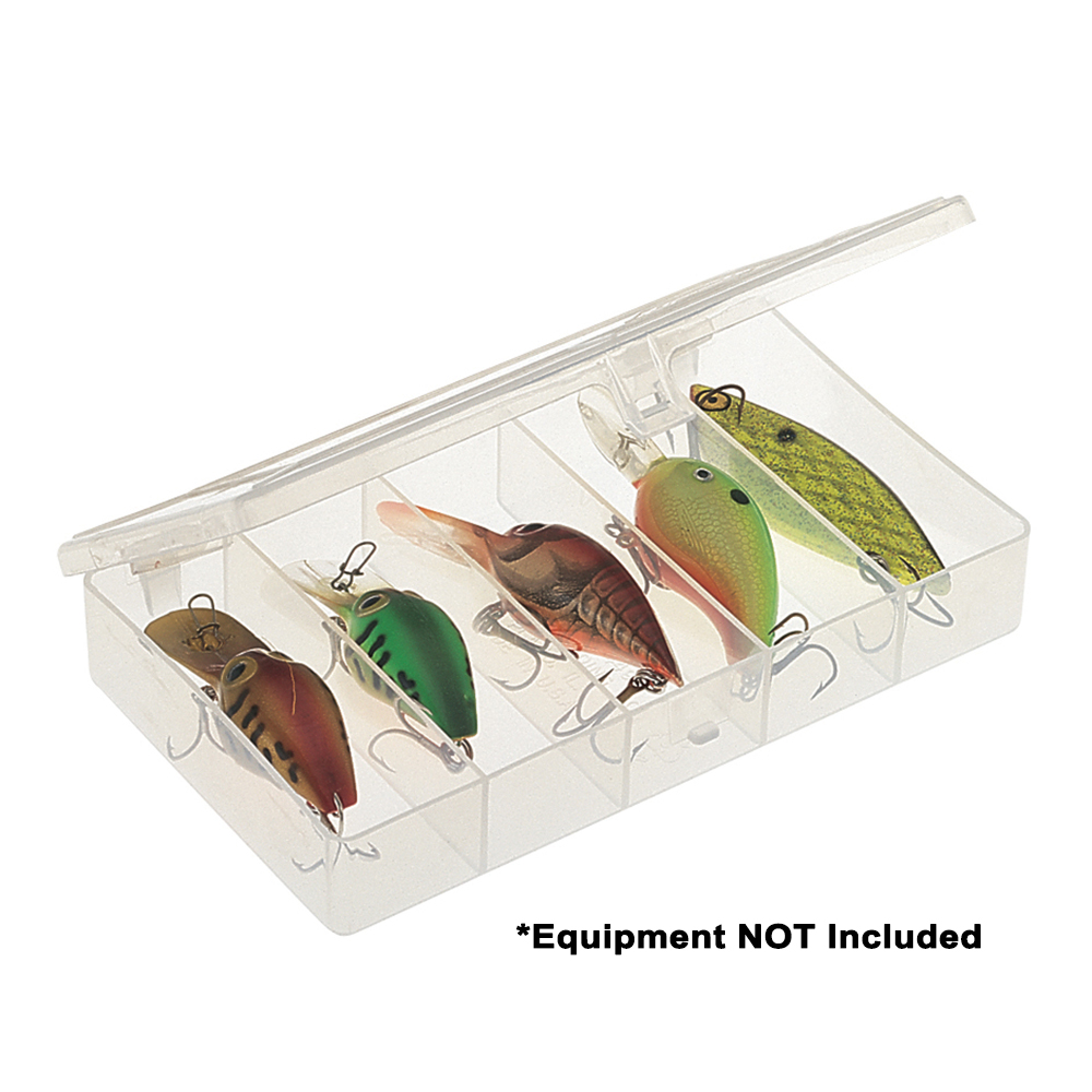 Plano Stowaway Compact Fishing Tackle Box, Clear
