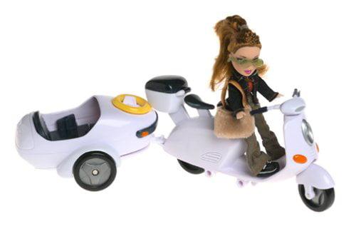 Lil' Bratz: Lil' Moto-Bike with Meygan Doll By None by