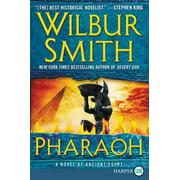 Pharaoh: A Novel of Ancient Egypt (Paperback)(Large Print)