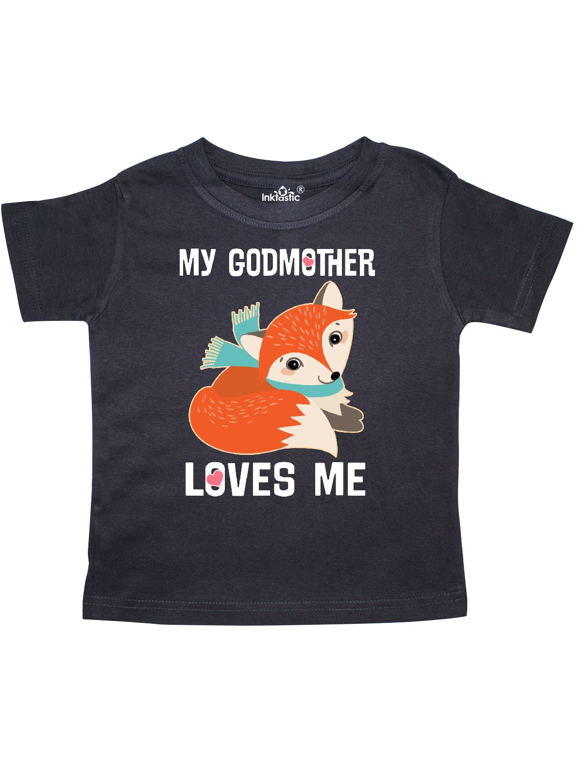 Godmother Loves Me Fox Toddler T-Shirt