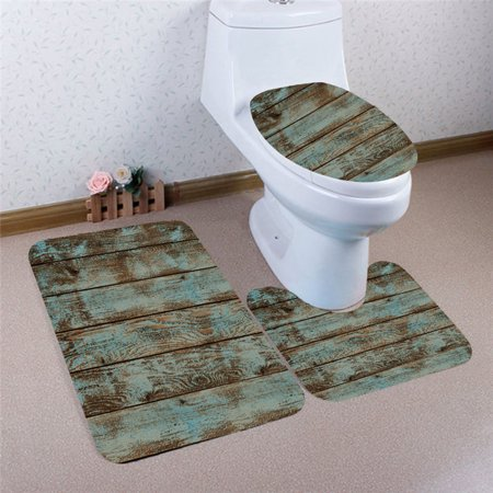Brilliant Mrosaa 3 Piece Bathroom Rugs Carpet Sets Soft Comfort Flannel Bathroom Mats Anti Skid Absorbent Toilet Seat Cover Bath Mat Lid Cover Gmtry Best Dining Table And Chair Ideas Images Gmtryco