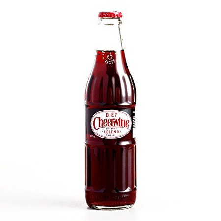 Cheerwine Diet Cherry Soda 12 Oz Each  1 Item Per Order