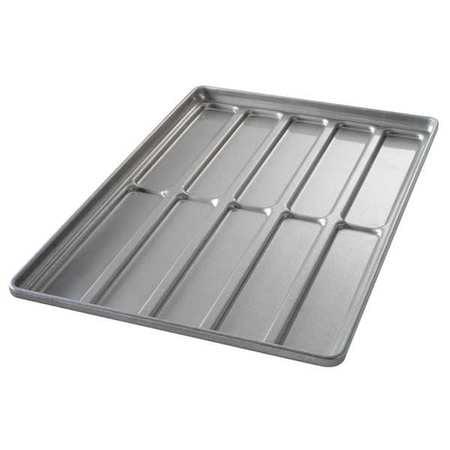 CHICAGO METALLIC 41052 Hoagie Bun Pan,10 Moulds