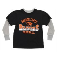 NCAA Oregon State Beavers Kids Long Sleeve Tee, Black