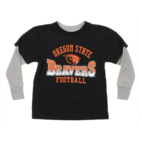 - NCAA Oregon State Beavers Kids Long Sleeve Tee, Black