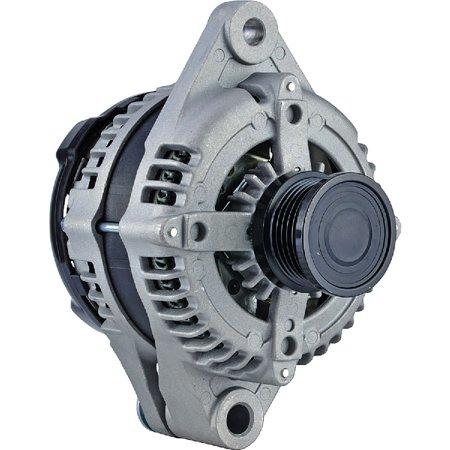 DB Electrical Remanufactured 400-52506R Alternator for 1.4L(83) L4 Turbo 07 Clock 140 Amp Internal Fan Type Clutch Pulley Type Internal Regulator CW Rotation 12V DODGE DART 2013-2016 56029579AB