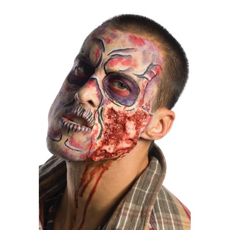 The Walking Dead Deluxe Costume Make Up - Dead Girl Halloween Makeup Tutorial