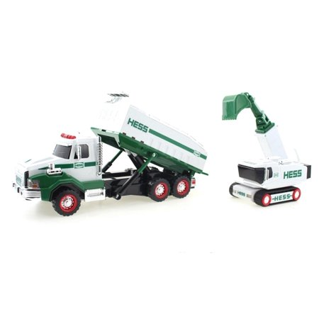 Truck Gas Mileage - Hess Oil & Gas Dump Truck and Loader2017 Collectible Toy 12
