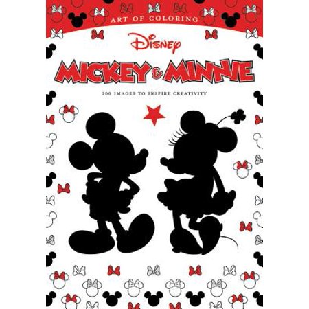 Art of Coloring: Mickey & Minnie : 100 Images to Inspire Creativity - Minnie And Mickey Mouse Halloween Coloring Pages