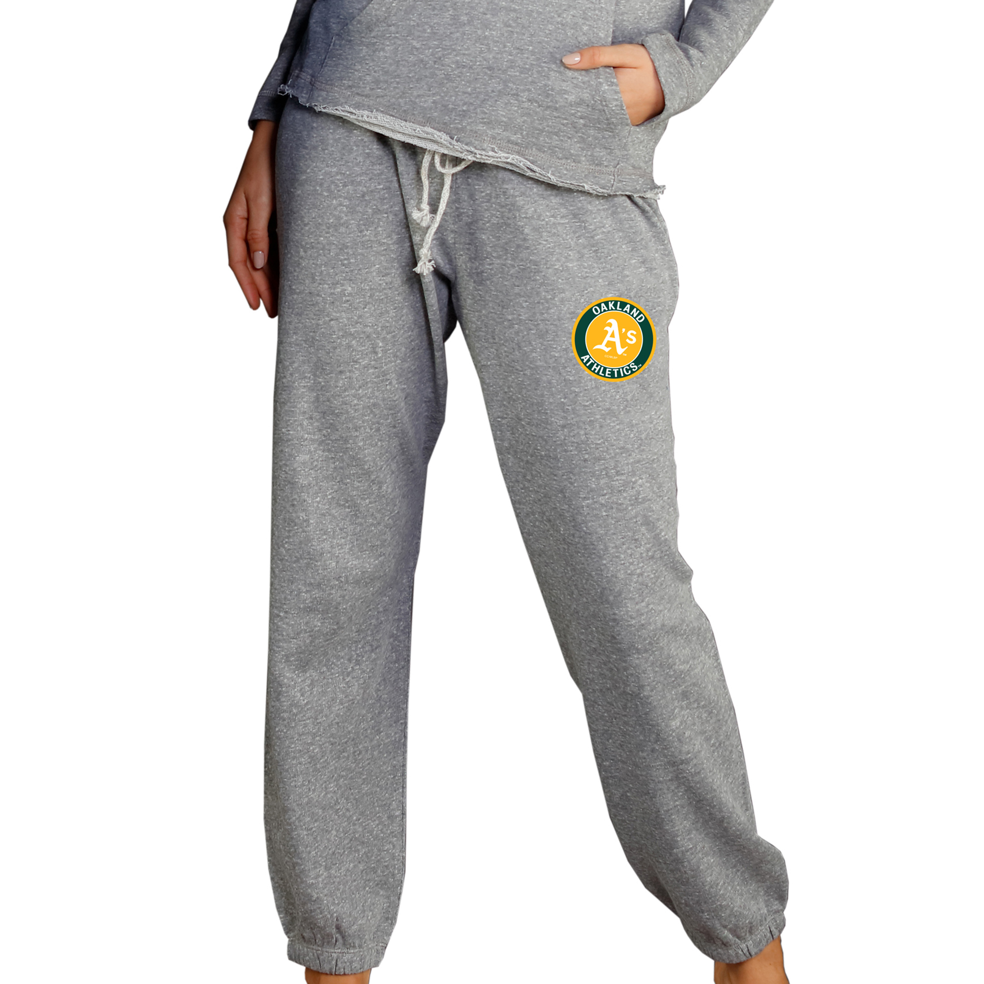 Oakland Athletics Concepts Sport Women's Mainstream Knit Pants - Gray