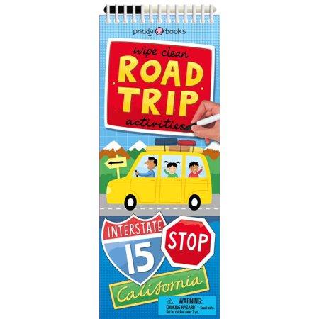 Wipe Clean Activities: Road Trip Wipe Activity Tote