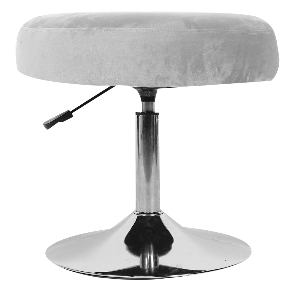 doact modern 360 degree rotating adjustable round vanity stool chair furniture for bathroom