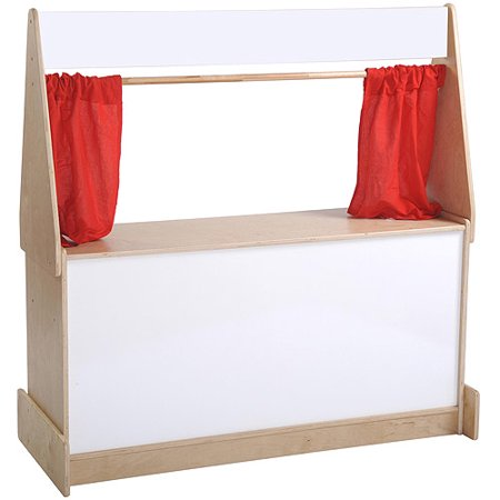 Puppet Theater with Dry-Erase Board