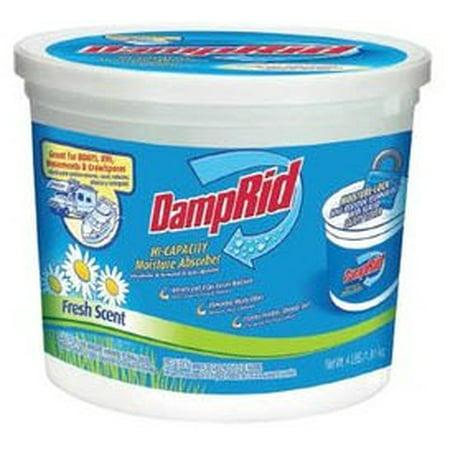 DampRid Hi-Capacity Moisture Absorber, Fresh Scent, 4 Lb ()