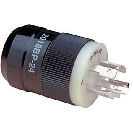 Rj12c Marine Plug (Marinco 2018BP-24 Trolling Motor Plug, Bass, 12/24V)