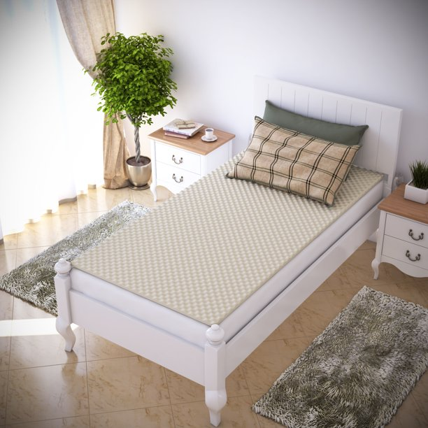 Egg Crate Mattress Topper   Twin and Twin XL   Designed to add