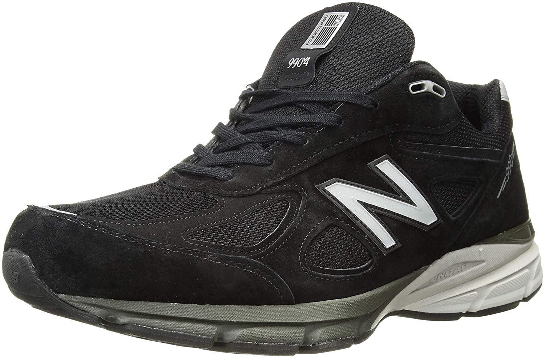 Black/Silver Running Sneakers WIDE