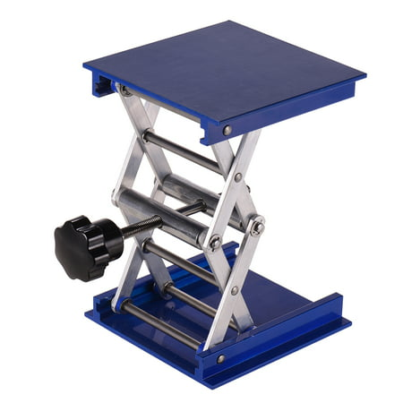 Aluminum Oxide laboratory Lifting Platform Scientific Lab Jack Stand 4 * 4 Inch for Chemical Physical Biological