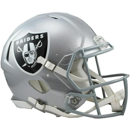 Riddell Oakland Raiders Revolution Speed Full-Size Authentic Football Helmet