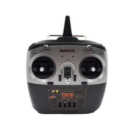 Ustyle T8FB Drone Remote Controller 2.4G Eight Channel Left/Right Hand R8EF Receiver Mini Helicopter Remote - image 1 de 9
